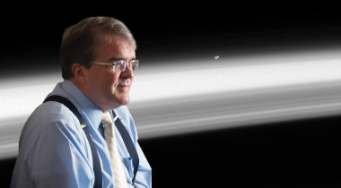 John Culberson with Alpha Centauri