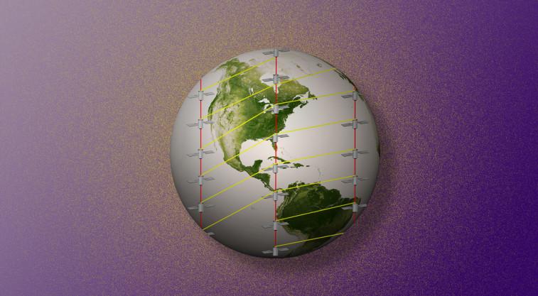 Leosat satellite network