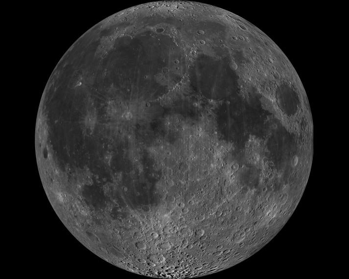Moon nearside