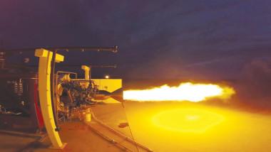 Newton 3 hot-fire test