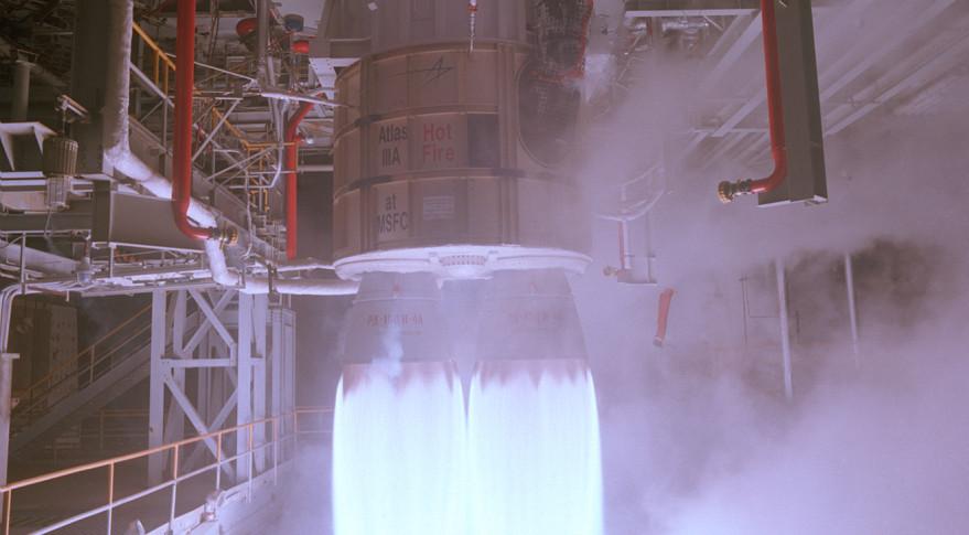 RD-180 test fire