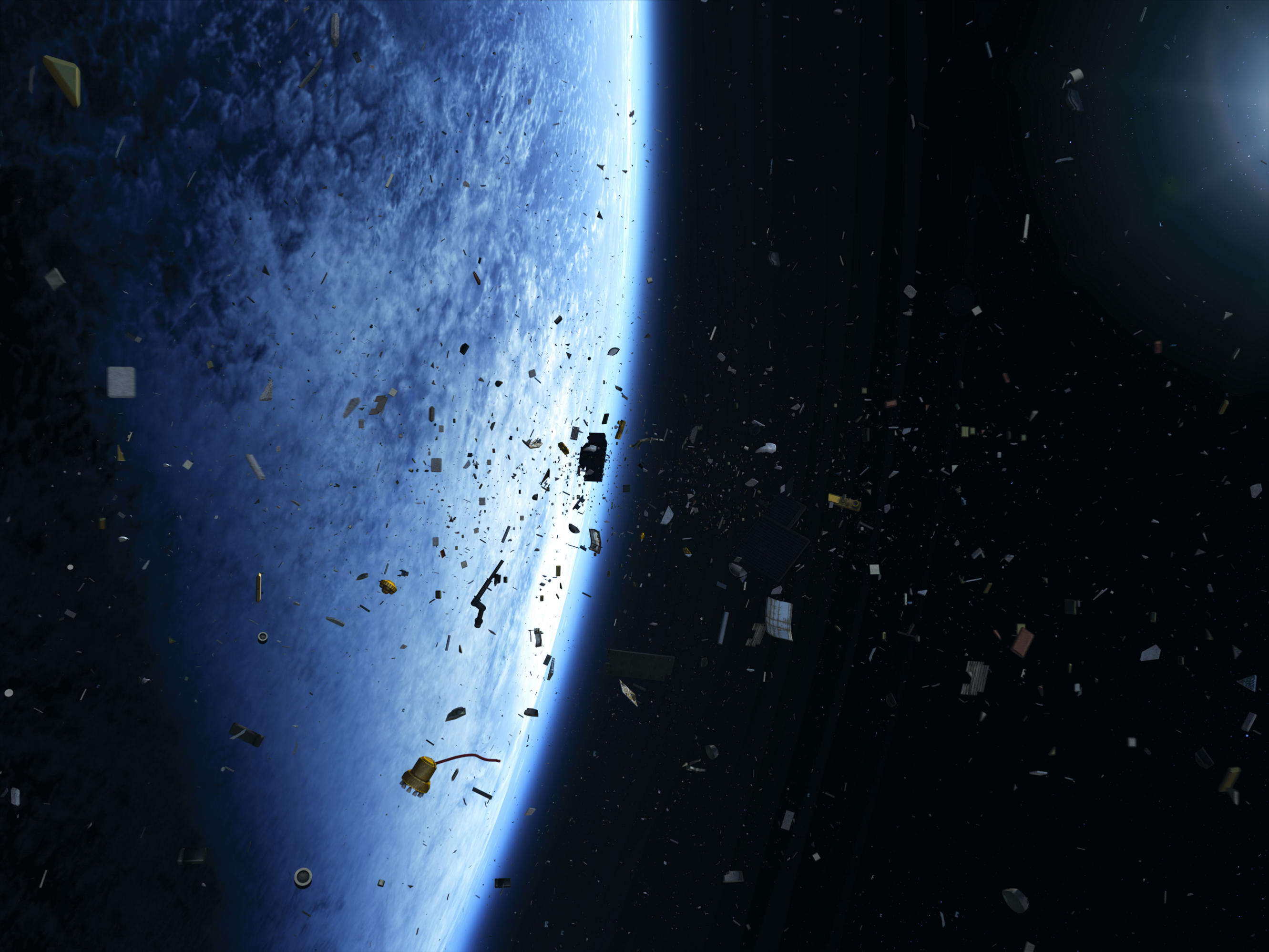 NASA's Interest in Debris Removal Limited to Tech Demos