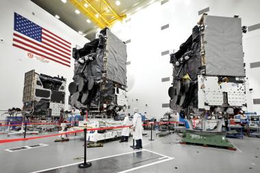 WGS satellites Air Force