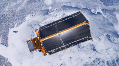 ESA's Cryosat-2 satellite launched in 2010 on a three-year mission to study the polar ice caps. Credit: ESA