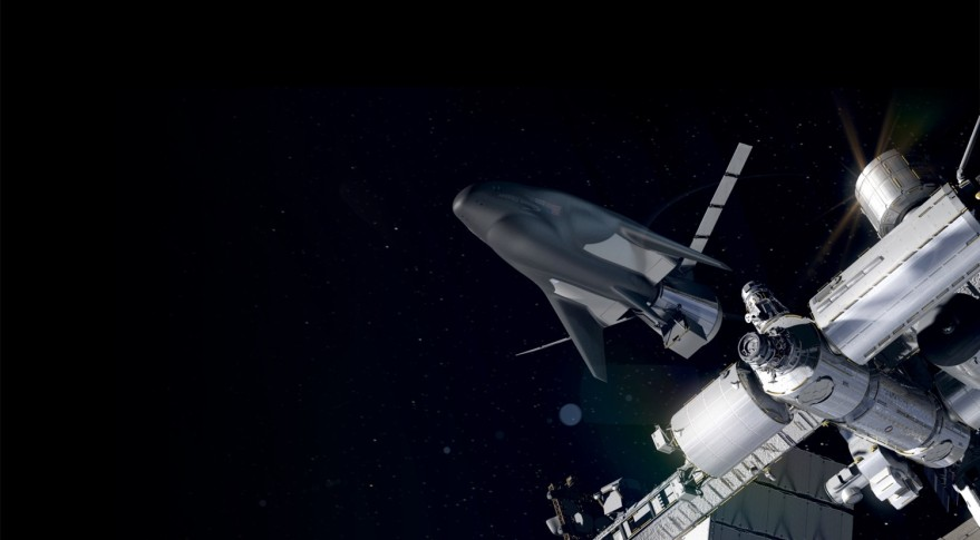 Dream Chaser cargo at ISS
