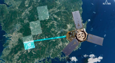 South Korea's Kompsat-3A carries a focal plane array capable of detecting objects as small as 1 meter in diameter. Credit: KARI