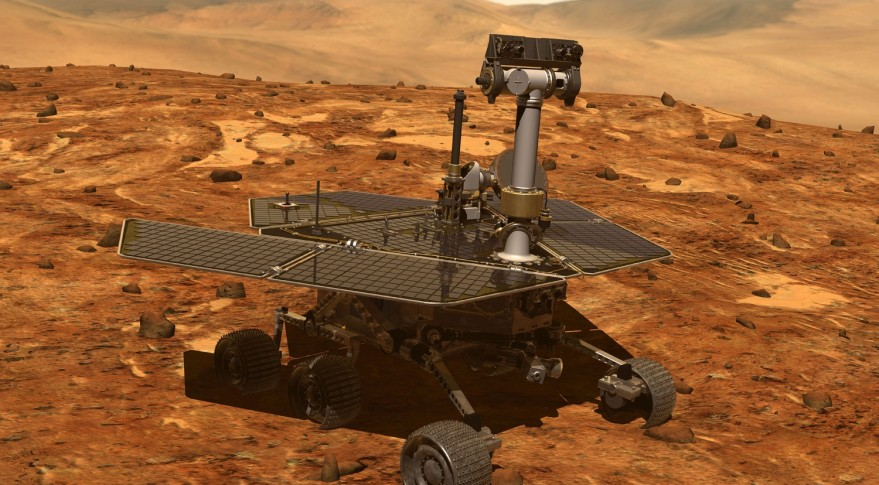 NASA rover falls silent as big  dust storm envelops Mars