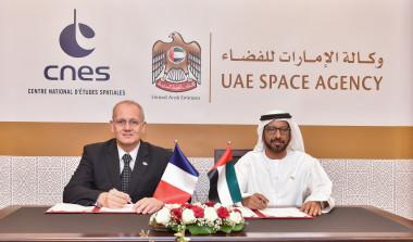 Jean-Yves Le Gall and Khalifa Mohammed Al Rumaithi