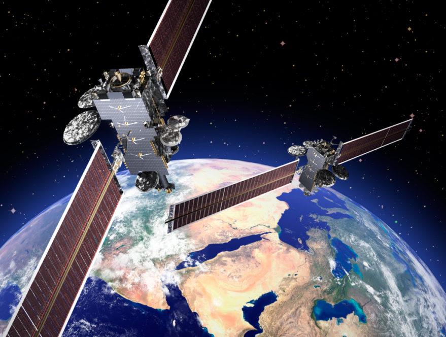 Arabsat 6a and Hellas-sat4