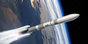 Ariane 6 rocket in 64 configuration