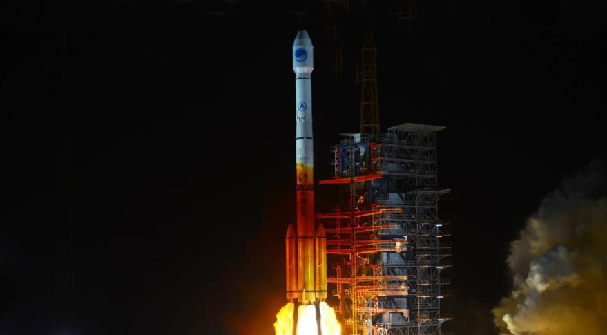 Beidou satellite launch