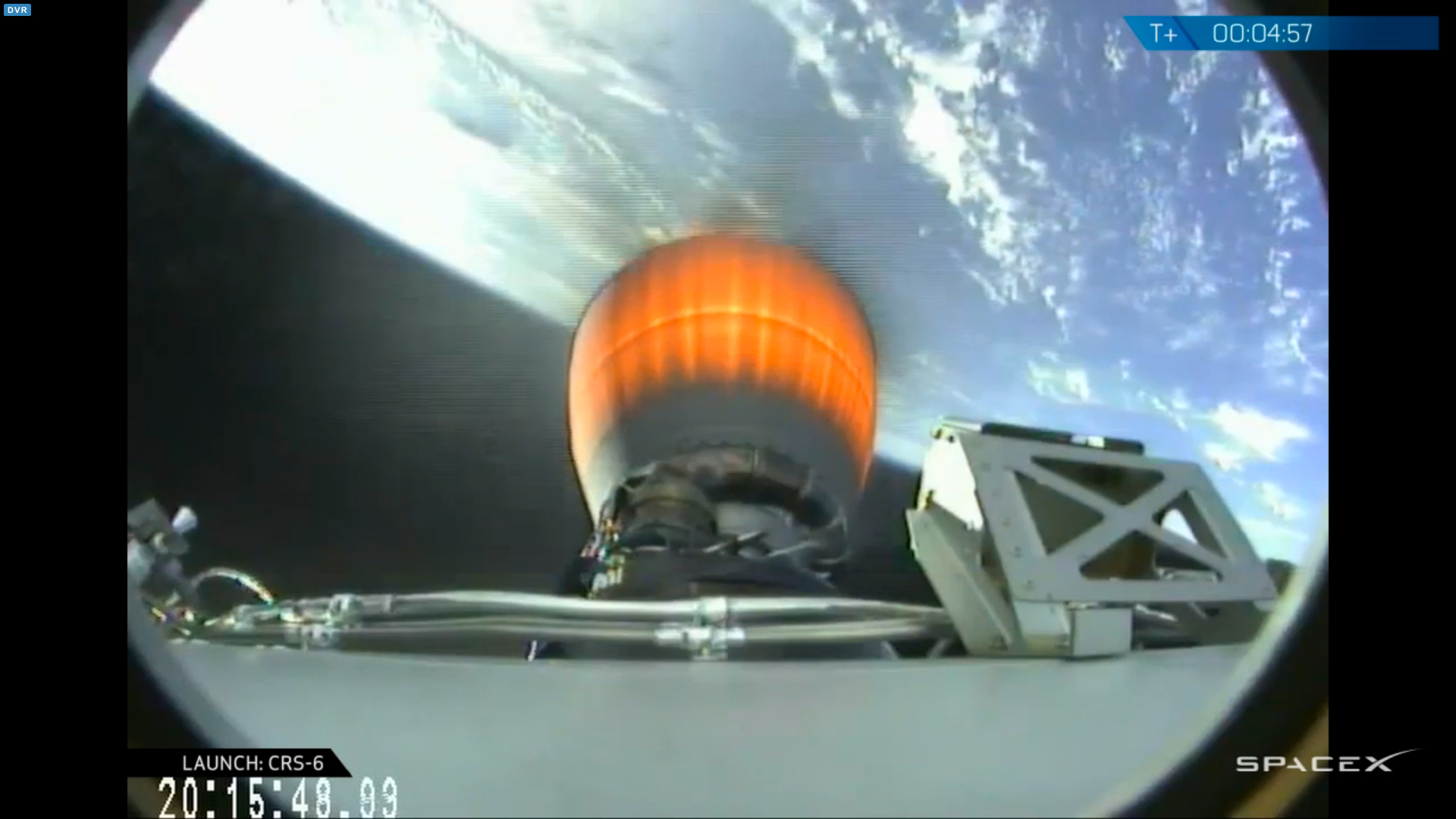 SpaceX CRS6 launch
