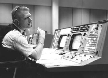 NASA Flight Director Gene Kranz