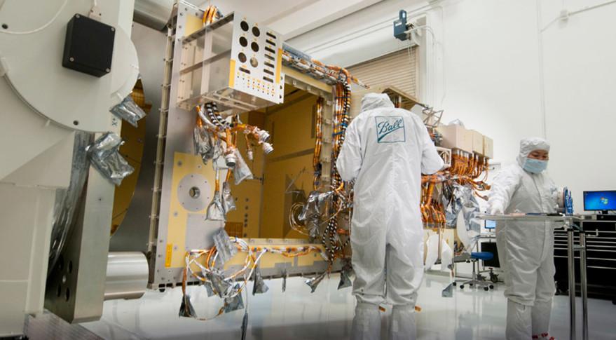 JPSS-1 undergoing testing
