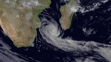 Meteosat-7 image of Cyclone Funso
