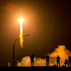 Soyuz launch Expedition 43