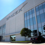 SpaceX headquarters building