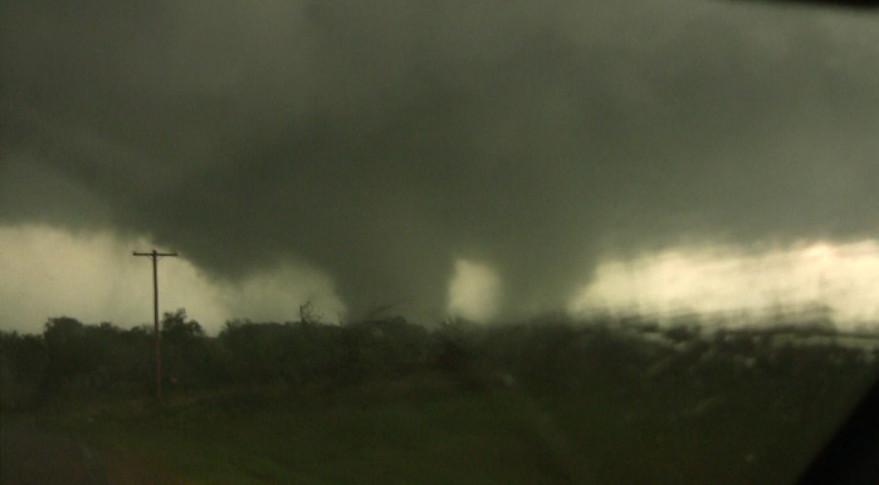 Tushka, Oklahoma, tornado