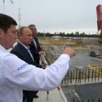 Putin at Vostochny