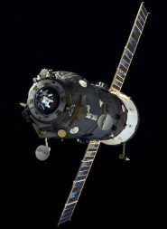 A Russian Progress supply ship in orbit. Credit: NASA photo