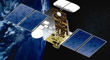 The Hylas 1 broadband communications satellite. Credit: Avanti artist's concept