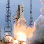Ariane 5 on a previous mission. Credit: Arianespace.