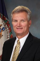 Official portrait of Virginia Secretary of Transportation Aubrey L. Layne, Jr. Credit: Virginia Department of Transportation