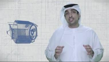 Emirates Mars Mission project manager Omran Sharaf. Credit: UAESA video