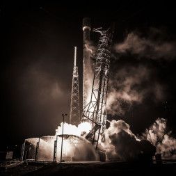 A SpaceX Falcon 9 launched  ABS 3A and Eutelsat 115 West satellites on March 1. Credit: SpaceX