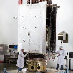 GPS 3 satellite. Credit: Lockheed Martin