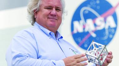 Garrett Skrobot. Credit: NASA