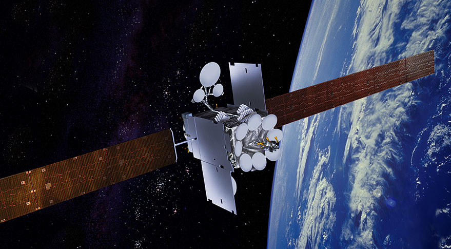 Global Xpress satellite. Credit: Inmarsat artist's concept