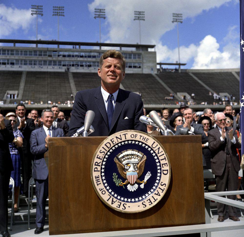 JFK to the moon speech