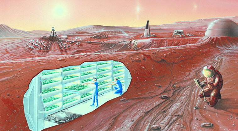The Space Exploration, Development, and Settlement Act of 2015 would make space settlement a national goal. Credit: NASA Ames artist's concept
