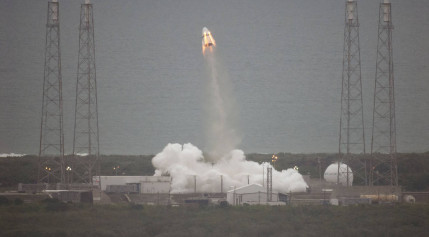 Dragon pad abort launch