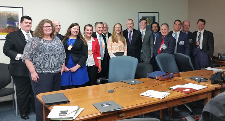 Sarah Beattie with OMB and OSTP staff.