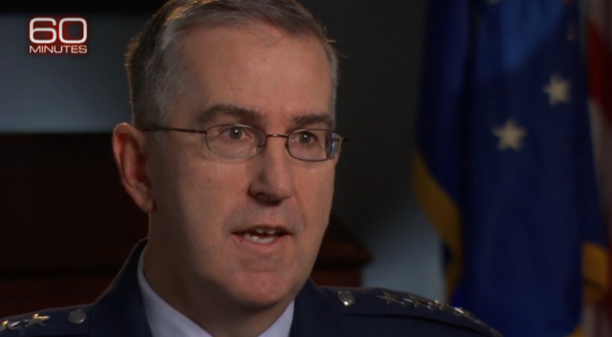 """""""I won't characterize… what the Chinese capabilities are. I just will tell you that we know what they are,"""" Gen. John Hyten said in a 60 Minutes interview in April."""