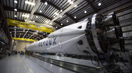 SpaceX's Falcon 9 rocket. Credit: SpaceX