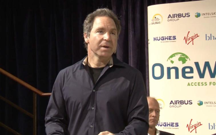 OneWeb CEO Greg Wyle