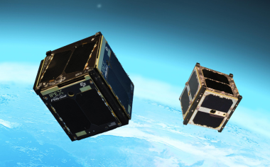 NASA CubeSats Heading into Orbit (Artist's Concept) Image credit: NASA/JPL-Caltech