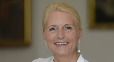 Pascale Ehrenfreund, a research professor at George Washington University's Space Policy Institute, was selected June 18 to succeed Johann-Dietrich Wörner as the executive chairman of the German space agency DLR. Credit: DLR