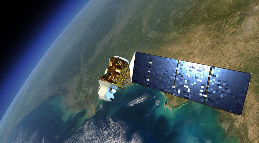 Artist's concept of the Landsat 9 satellite. Credit: NASA