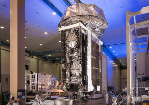 MUOS-4 preps for shipment to Cape Canaveral for launch. Credit: Lockheed Martin