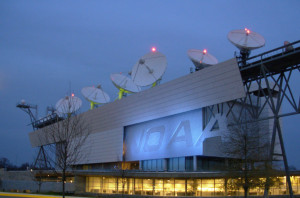 NOAA's Satellite Operations Facility in Suitland, Maryland: home of the main GOES-R ground station.. Credit: NOAA