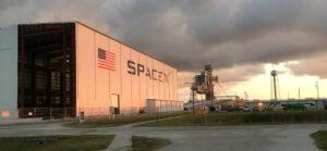SpaceX hangar 39A