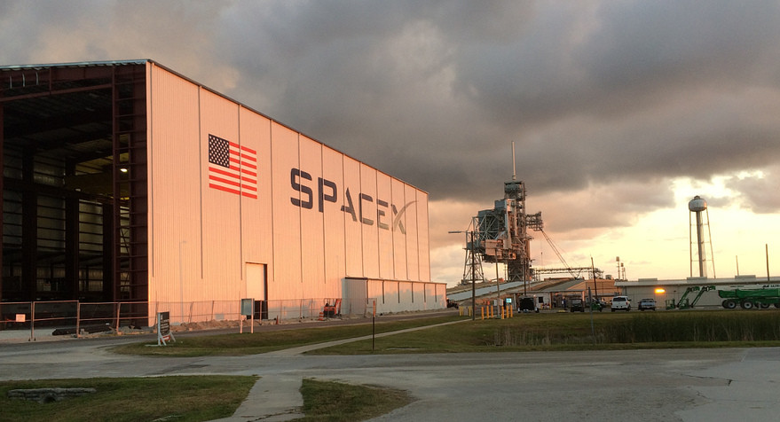 SpaceX hangar 39A