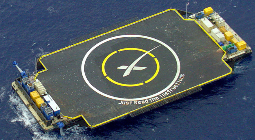 spacex drone ship landing - photo #19