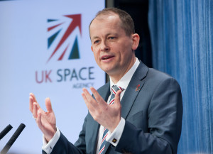 David Parker, U.K. Space Agency chief executive. Credit: UKSA