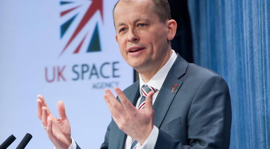 David Parker, U.K. Space Agency chief executive. Credit: UKSA