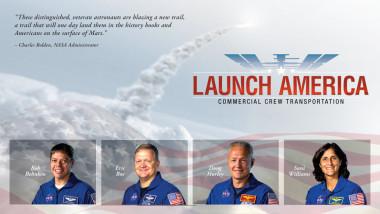 NASA commercial crew astronauts